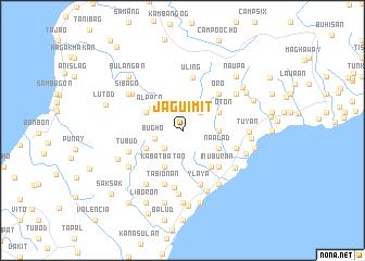 map of Jaguimit