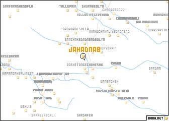 map of Jahād Nāb