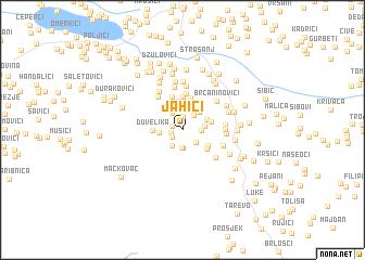 map of Jahići