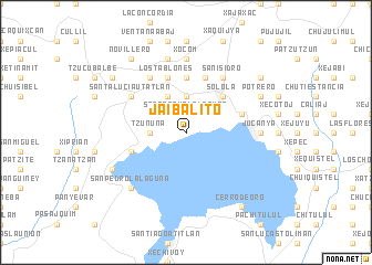 map of Jaibalito