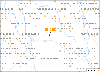 map of Jaipur