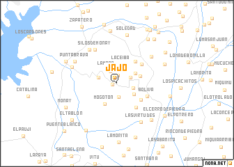 map of Jajo