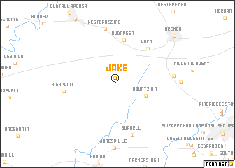 map of Jake