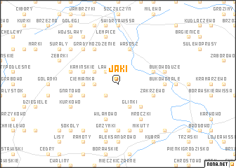 map of Jaki