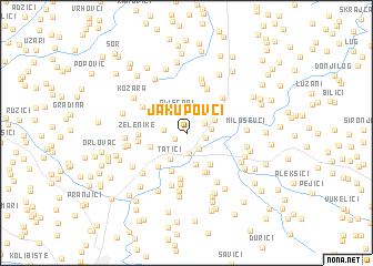 map of Jakupovci