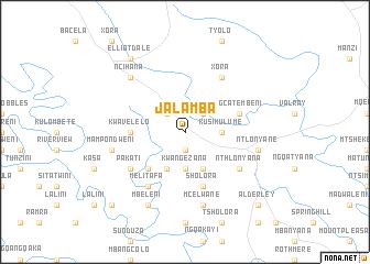 map of Jalamba