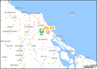 map of Jalas