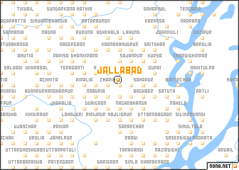 map of Jallābād