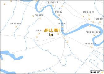 map of Jallābī