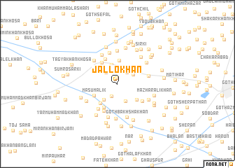 map of Jallo Khān