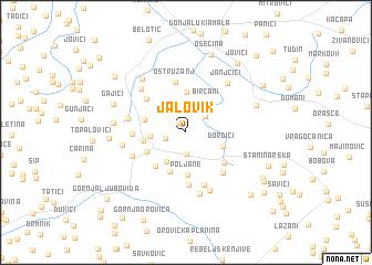 map of Jalovik