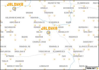 map of Jałówka