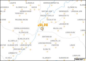 Jalpa Zacatecas Mexico Map.Jalpa Mexico Map Nona Net