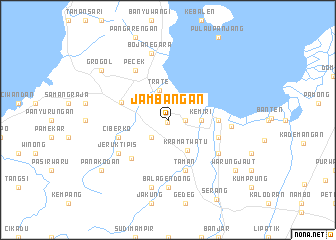 map of Jambangan