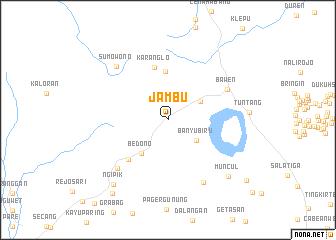 map of Jambu