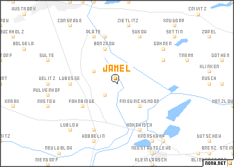 map of Jamel