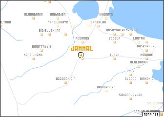 map of Jammāl