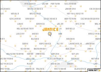 map of Jamnice