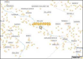 map of Jandrin Pod