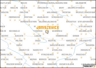 map of Janiszewice