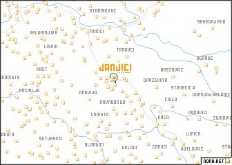 map of Janjići