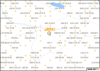 map of Janki