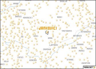 map of Jankovići