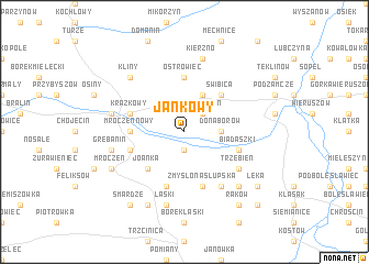 map of Jankowy