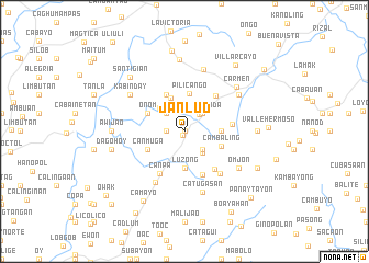 map of Janlud