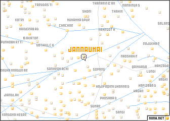 map of Jannaumāi