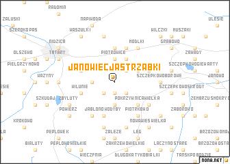 map of Janowiec Jastrząbki
