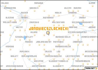 map of Janowiec Szlachecki