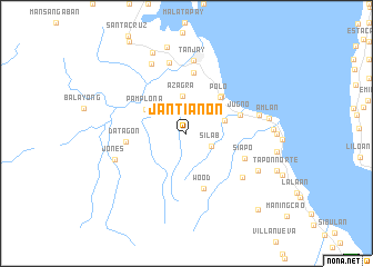 map of Jantianon
