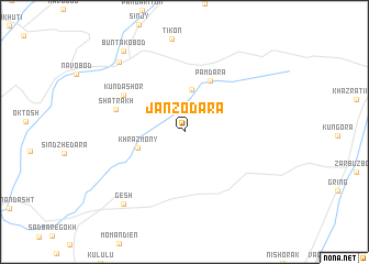 map of Janzodara