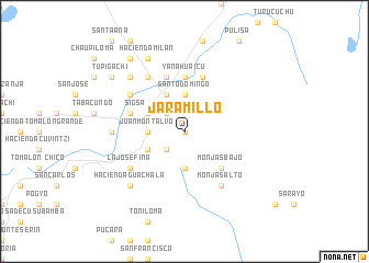 map of Jaramillo