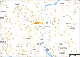 map of Jardan
