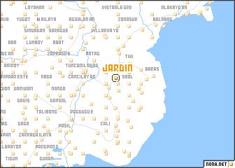map of Jardin
