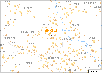 map of Jarići