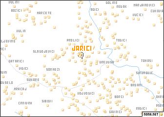 map of Jarići