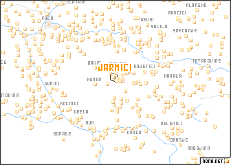 map of Jarmići