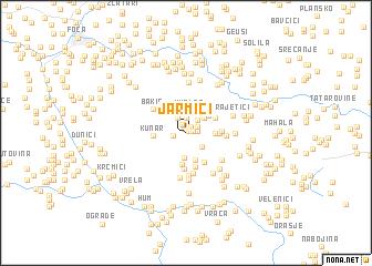 map of Jarmići