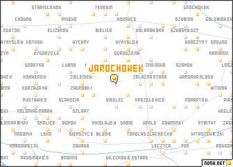 map of Jarochówek