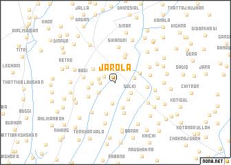 map of Jarola