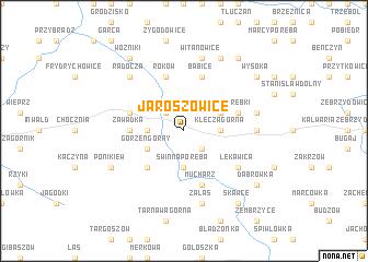 map of Jaroszowice
