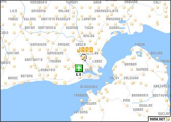 map of Jaro