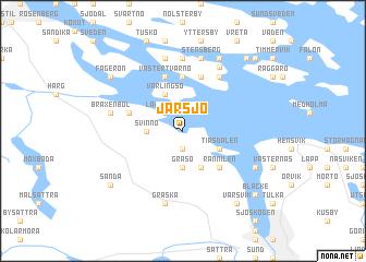 map of Järsjö