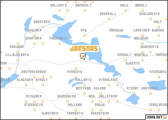 map of Järsnäs