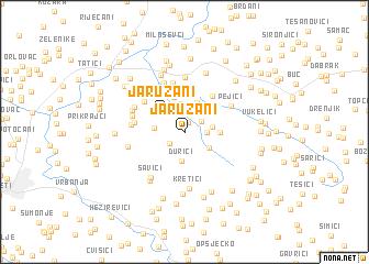 map of Jaružani