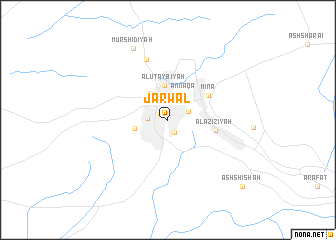 map of Jarwal