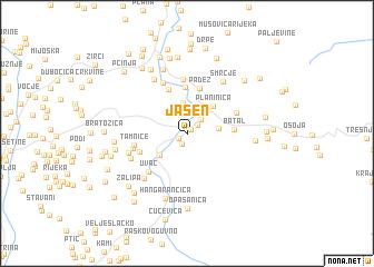 map of Jasen